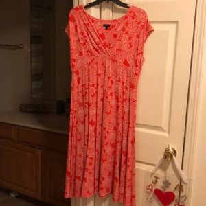 Talbots summer dress, size L